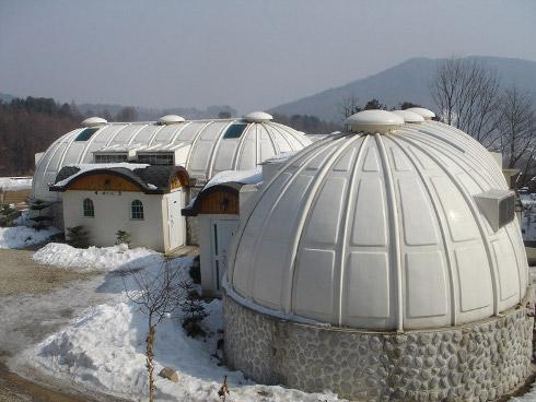 Купольные дома в Приморье