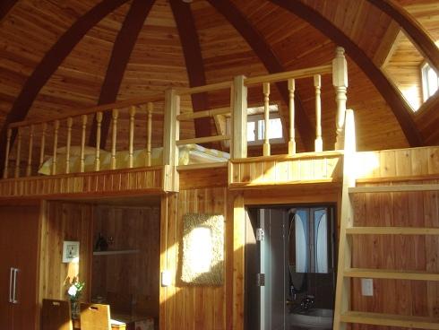 Интерьер купольного помещения