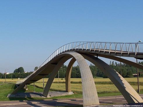 Мост Леонардо да Винчи, Норвегия, 1502/2001