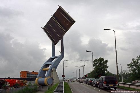 Мост Slauerhoffbrug, Нидерланды, 2000